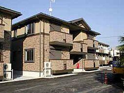 栃木県栃木市岩舟町静の賃貸アパートの外観