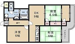 大翔第一ビル[303号室号室]の間取り