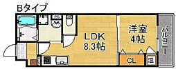 F maison foglia II[1階]の間取り