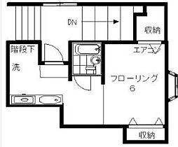 コーポ柴田[202号室]の間取り