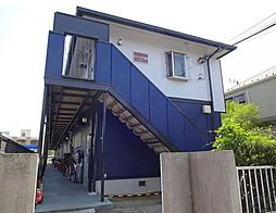 東京都江戸川区北葛西2丁目の賃貸アパートの外観