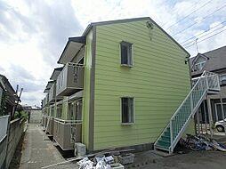 石井町 2DK アパートB棟[2階]の外観