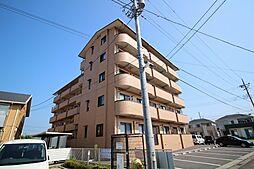 栃木県鹿沼市緑町1丁目の賃貸マンションの外観