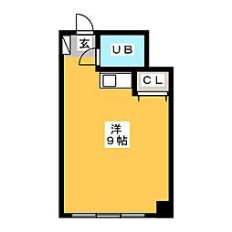 プリメゾン博多[2階]の間取り