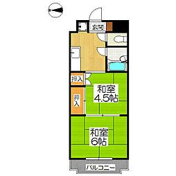 メゾンサイプリス[3階]の間取り