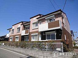 愛知県みよし市三好丘緑2の賃貸アパートの外観