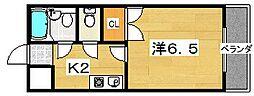 グリーンフィールド[2階]の間取り