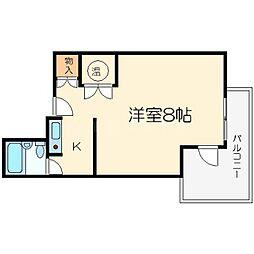 センチュリー21壱番館[5階]の間取り