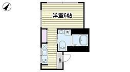 千石柳澤マンション[401号室]の間取り
