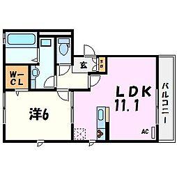La maison du courage[1階]の間取り