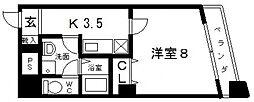 アベニューリップル小阪[1003号室号室]の間取り