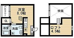 Felicita熱田 (フェリシタアツタ)[1階]の間取り