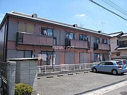 埼玉県上尾市仲町2丁目の賃貸アパートの外観