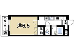 ファミール西大寺[3階]の間取り