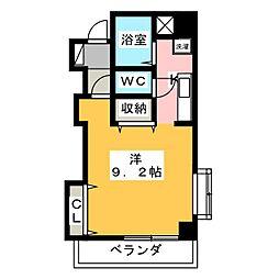 エーアイマンション[4階]の間取り