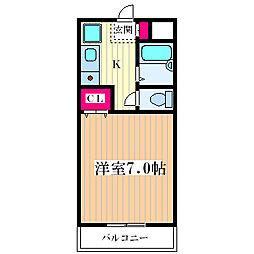 ARK21[402号室]の間取り