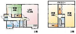 [一戸建] 千葉県東金市砂古瀬 の賃貸【千葉県 / 東金市】の間取り