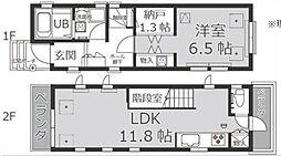 [一戸建] 東京都港区白金3丁目 の賃貸【/】の間取り