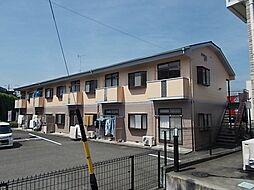 静岡県富士市宮下の賃貸アパートの外観