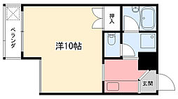 ラマドレー甲子園[2-2号室]の間取り