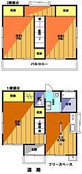 AJハウス(安行慈林貸戸建) 1階3DKの間取り