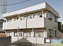 東京都日野市旭が丘1丁目の賃貸アパートの外観