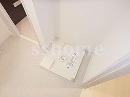 リブリ・魚崎の室内洗濯機置き場