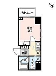 レジディア文京本郷II[13階]の間取り
