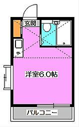 埼玉県新座市栗原4丁目の賃貸アパートの間取り