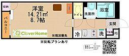 東京都町田市山崎町の賃貸アパートの間取り