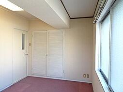 北側洋室は収納完備で、北側ですが明るい居室です。(2019年1月7日撮影)
