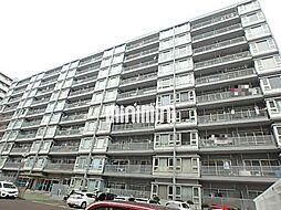 卸商サンプラザ[4階]の外観