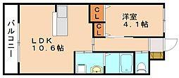 仮称 本城新築マンション[3階]の間取り