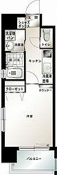 エンクレスト吉塚駅前[3階]の間取り