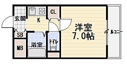 メゾン・シェポル[4階]の間取り