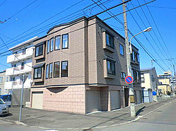 北海道札幌市東区北二十五条東13丁目の賃貸アパートの外観