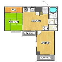 Sixth Maison de Yoshino 〜第6メゾン[3階]の間取り