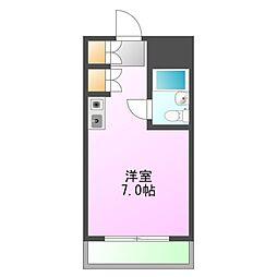メゾンドノア大和田[3階]の間取り