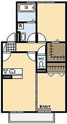 シャルマン[2階]の間取り