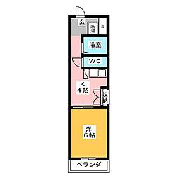 千代田ビルディング[6階]の間取り