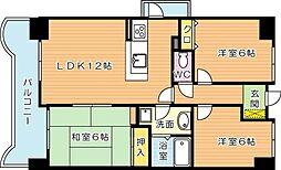 トーカンマンション高炉台公園[5階]の間取り