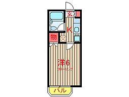 コーポエイコウ (0030)[105号室]の間取り