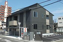 山口県宇部市錦町の賃貸アパートの外観