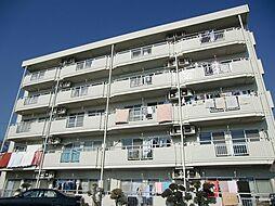 東京都調布市国領町6丁目の賃貸マンションの外観
