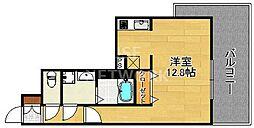スワンズ京都セントラルシティ[101号室号室]の間取り