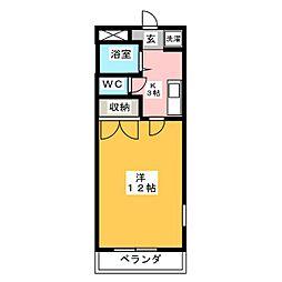 メゾン美香園[3階]の間取り