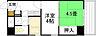 間取り,2K,面積27.2m2,賃料5.5万円,広島電鉄8系統 十日市町駅 徒歩6分,JR山陽本線 横川駅 バス2分 広瀬町下車 徒歩6分,広島県広島市中区本川町3丁目