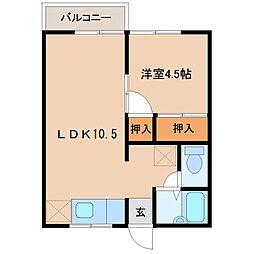 隈之城駅 2.7万円