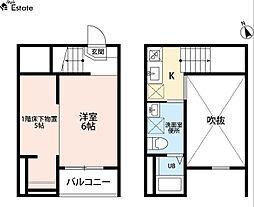 ZEN 千年(ゼンチトセ)[2階]の間取り