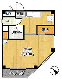 シークロジュマン[4階]の間取り